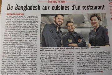 Du Bangladesh aux cuisines d'un restaurant